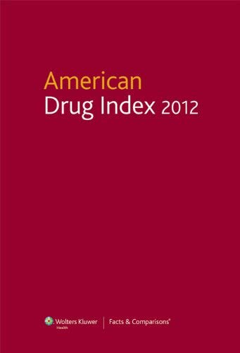 American Drug Index 2012 9781574393279
