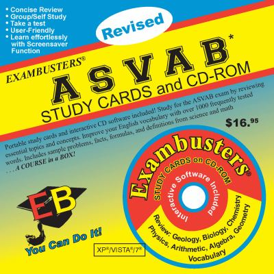 ASVAB Study Cards and CD-ROM [With CDROM] 9781576334126