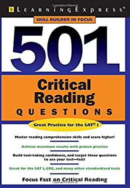 501 Critical Reading Questions 9781576855102
