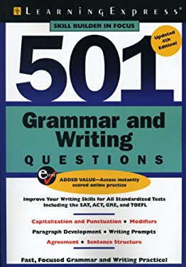 501 Grammar and Writing Questions: Fast, Focused Practice 9781576857489