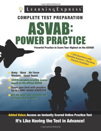 ASVAB: Power Practice 9781576857496