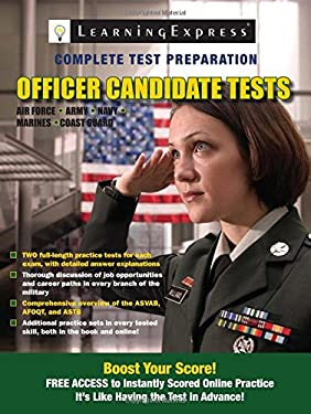 Officer Candidate Tests 9781576857717