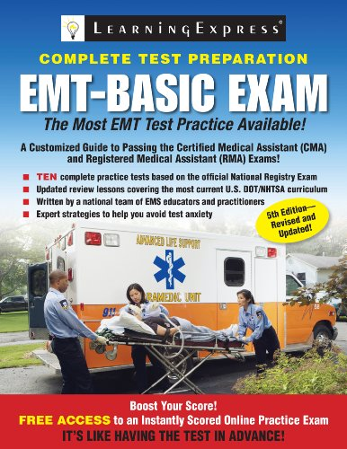 EMT-Basic Exam 9781576857908