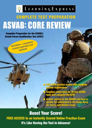 ASVAB: Core Review 9781576858905