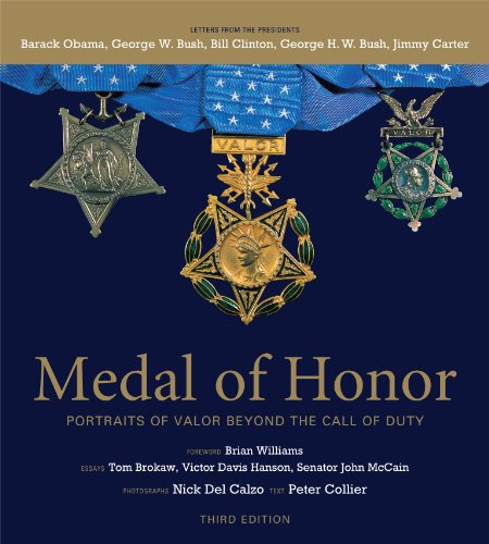 Medal of Honor: Portraits of Valor Beyond the Call of Duty [With DVD] 9781579654627