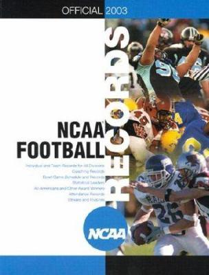 A NCAA Football: The Official 2003-2004 Football Records Book 9781572435889