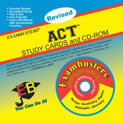 ACT Study Cards and CD-ROM [With CDROM] 9781576334102