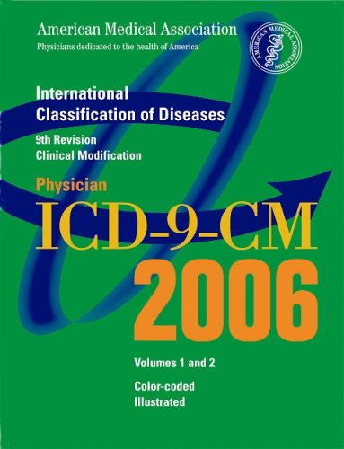 AMA Physician ICD-9-CM, Volumes 1 and 2: International Classification of Diseases, 9th Revision Clinical Modification 9781579476922