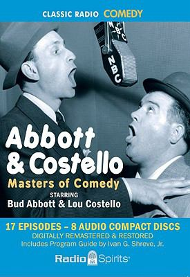Abbott & Costello: Masters of Comedy 9781570198823