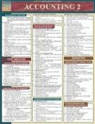 Accounting 2 Laminate Reference Chart 9781572225169