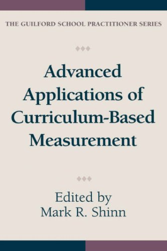 Advanced Applications of Curriculum-Based Measurement 9781572302570