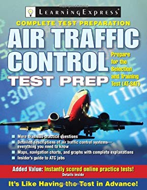 Air Traffic Control Test Preparation [With Access Code] 9781576856659