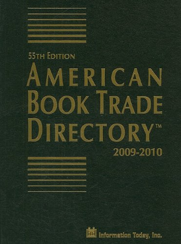 American Book Trade Directory 9781573873451