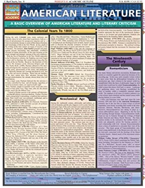 American Literature Laminate Reference Chart 9781572226135