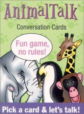 Animaltalk Conversation Cards 9781572813724