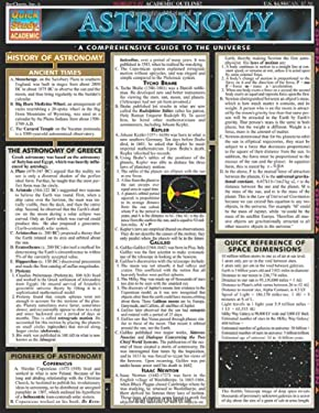 Astronomy Laminated Reference Charts 9781572224858