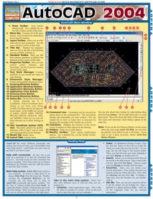 AutoCAD 2004 Laminate Reference Chart 9781572227767