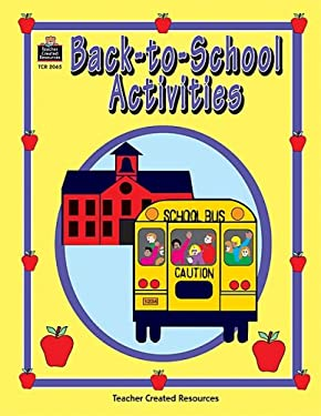Back-To-School Activities 9781576900659