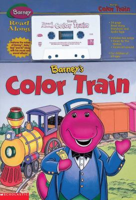Barney's Color Train [With Book] 9781570647130