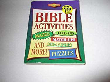 Bible Activities and More: Mazes, Dot to Dot and More 9781577481836