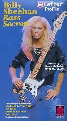 Billy Sheehan Bass Secrets 9781575605524