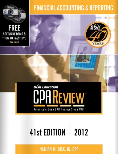 CPA Review: Financial Accounting & Reporting 9781579618759