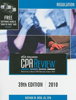 Bisk Comprehensive CPA Review: Regulation 9781579617356