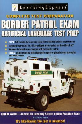 Border Patrol Exam: Artificial Language Test Prep 9781576857328