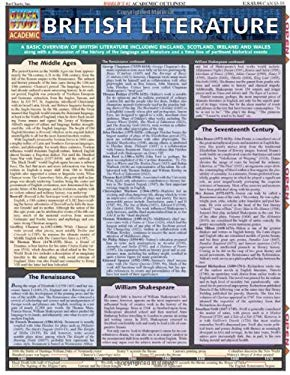 British Literature Laminate Reference Chart 9781572226159