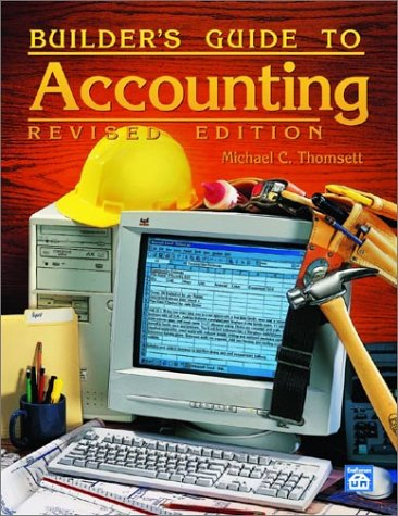 Builder's Guide to Accounting 9781572181052