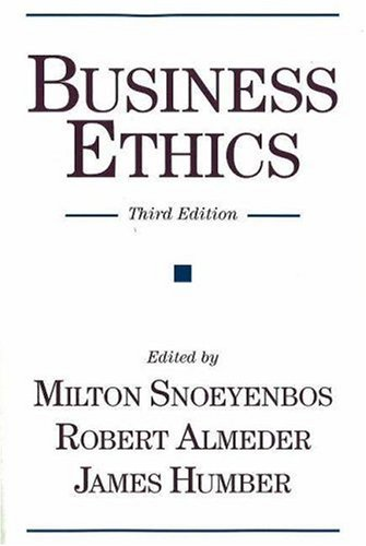 Business Ethics 9781573929035