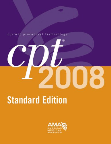CPT: Standard: Current Procedural Terminology 9781579479367