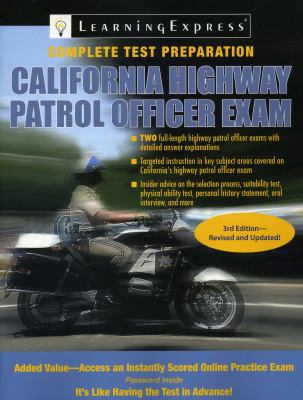 California Highway Patrol Officer Exam 9781576857151
