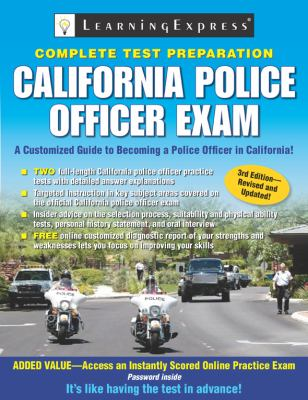 California Police Officer Exam 9781576857281