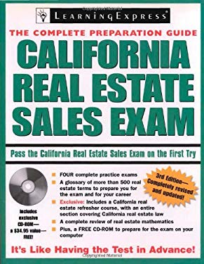 California Real Estate Sales Exam [With CDROM] 9781576856024
