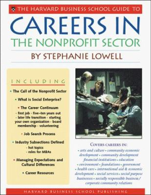 Careers in the Nonprofit Sector 9781578512317