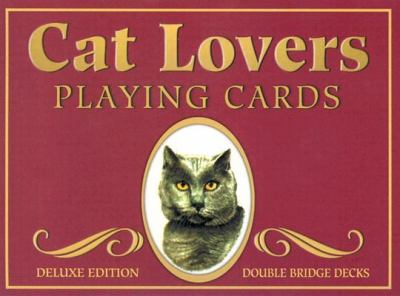 Cat Lovers Double Bridge Set Playing Cards 9781572813298
