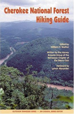 Cherokee National Forest Hiking Guide 9781572333741
