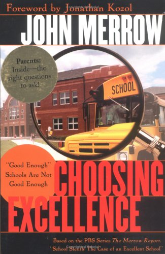 Choosing Excellence: Good Enough Schools Are Not Good Enough 9781578860142