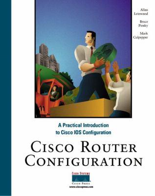 Cisco Router Configuration 9781578700226