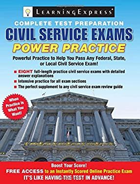 Civil Service Exams: Power Practice 9781576859094