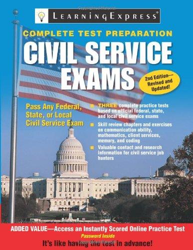 Civil Service Exams 9781576857441