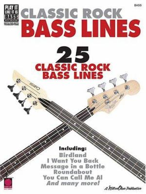 Classic Rock Bass Lines 9781575607771