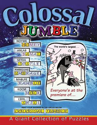 Colossal Jumble: A Giant Collection of Puzzles 9781572434905