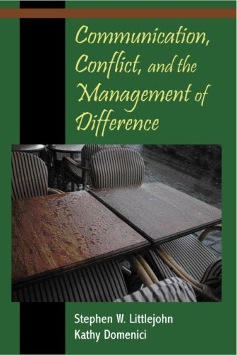 Communication, Conflict, and the Management of Difference 9781577665038