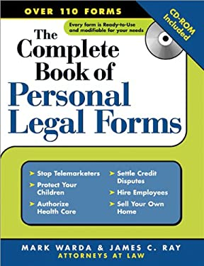Complete Book of Personal Legal Forms [With CD-ROM] 9781572484993