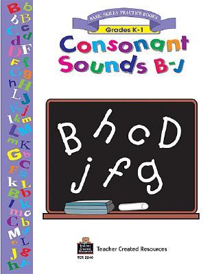 Consonant Sounds B-J Workbook 9781576902400