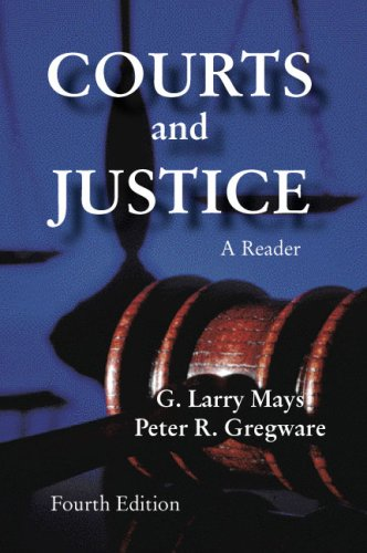 Courts and Justice: A Reader 9781577665854