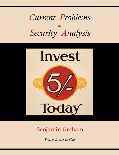 Current Problems in Security Analysis (Two Volumes in One) 9781578989553
