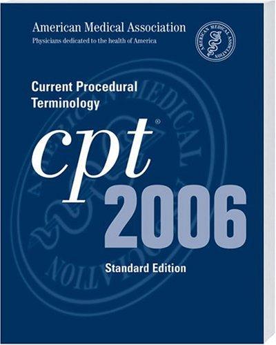 Current Procedural Terminology Standard 9781579476977